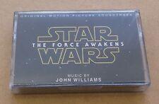 JOHN WILLIAMS Star Wars: The Force Awakens OST European 23-track cassette SEALED