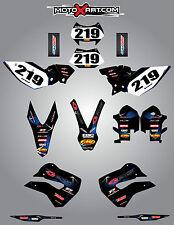 Husaberg FE 390, 450, 570, TE 250, 300, FX 450, FS 570 2009-2012 BARBED stickers