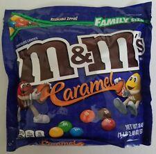NEW Sealed Caramel M&M's Family Size 18.40 oz Bag FREE WORLDWIDE SHIPPING