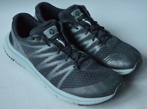 Men's Black & Grey Merrell Overhaul Running Shoes, Trainers Size UK 11, EU 46.