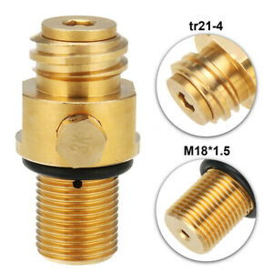 M18x1.5 Thread CO2 Tank Refill Valve Adapter Maker For Soda Stream Pin Parts
