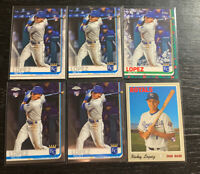 Nicky Lopez RC Lot(6) 2019 Topps Kansas City Royals