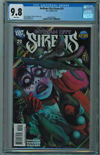 GOTHAM CITY SIRENS #21 CGC 9.8 HARLEY QUINN COVER WHITE PAGES 2011