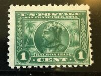 1913 1 cent Panama-Pacific Exposition Commemorative
