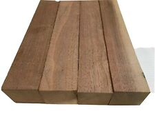 4 Pack Set,  Black Walnut Lumber Board, Turning Wood  - 2
