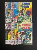 Iron Man 🔥 #'s 200,201,202,203,204,205,206,207,208,209! Marvel!