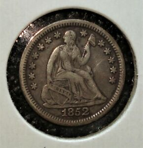 1852 Silver US Half Dime