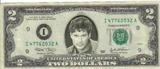 David Hasselhoff $2 Dollar Bill Mint! Rare! $1…