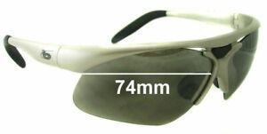 SFx Replacement Sunglass Lenses fits Bolle Vigilante - 74mm Wide