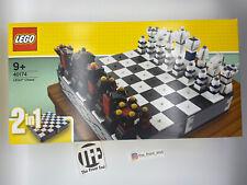 LEGO Iconic 40174 Schach Chess Dame Schachspiel 2017 Exklusiv Brettspiel NEU OVP