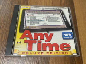 Any Time Deluxe Edition Version 6.0 (PC, 1992) Windows Computer CPU Software