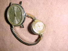 vintage PAIR of SOVEREIGN Mechanical WATCHES