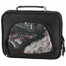 """Black & White Messenger Laptop/Notebook Bag 7"""" Inch to 8.9"""" Inch"""
