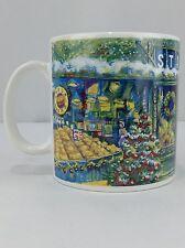 Starbucks Christmas Tree Coffee Mug Barista 2000 Holiday Pikes Place