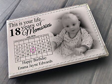 """Personalised guestbook photo album 36 x 6x4"""" photos 18th Birthday party present"""