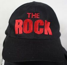 Rare Vintage WWF The Rock Know Your Role Wrestling Snapback Hat Cap 90s Black