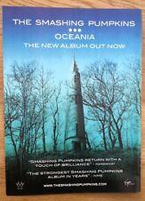 SMASHING PUMPKINS Oceana magazine ADVERT / Poster 11x8 inches