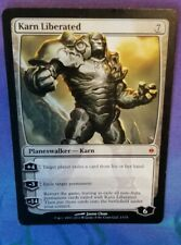 Karn Liberated, New Phyrexia, Magic mtg, Very Light Play