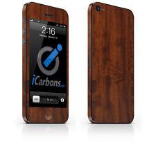 iPhone 5 Skin - Dark Wood skin by iCarbons