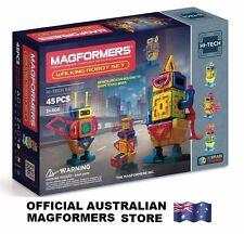 Genuine MAGFORMERS New Hi-Tech Walking Robot Set - 45 pcs - 3D Magnetic building