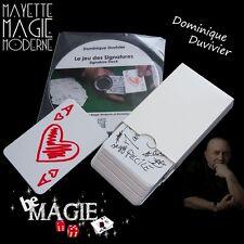 DUVIVIER - Le Jeu des Signatures + DVD - Magie - Bicycle