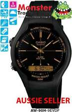 AUSTRALIAN SELLER CASIO DUALTIME STOP WATCH AW90 AW90H AW-90H-9EV 12 MONTH WRNTY