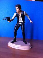 18 cm Attakus STAR Wars Elite Collection Statua Han Solo in carbonio..