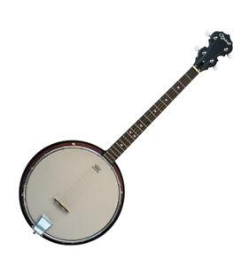 Traditional Tenor Banjo Composite Shell Detachable Resonator Gig Bag by Ozark