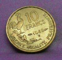 10 francs guiraud 1952 B - TTB - pièce de monnaie française - N14189