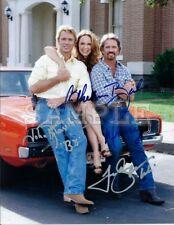 Dukes of Hazzard cast signed 5x7 Autograph Photo RP - Free ShipN!! Luke Bo Daisy