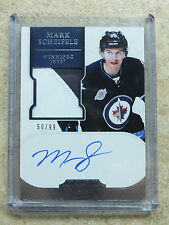 11-12 Panini Dominion ARP RC Autographed Rookie Patch #200 MARK SCHEIFELE /99