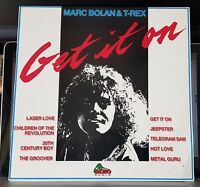 Marc Bolan & T-Rex - Get It On - Dino compilation LP record
