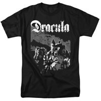Dracula Castle Universal Monsters Officially Licensed T-Shirt