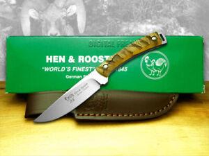 Hen & Rooster Full Tang Ram Horn Hunter Knife 5019RH Knives