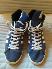 Mens Adidas Originals Basket Profi Hi Top Trainers UK 8 NEZZA RARE VINTAGE