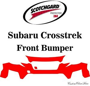3M Scotchgard Paint Protection Film Pre-Cut Fits 2018 2019 2020 Subaru Crosstrek