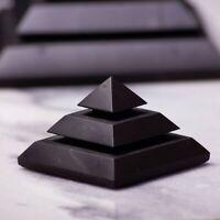 "Shungite Pyramid ""Sakkara"" 5cm, 4G 5G EMF and Radiation Protection & Healing"