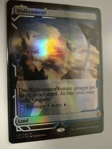 Magic MTG - Zendikar Rising Expedition - Wolkenmeer - FOIL - nm/m