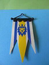 Playmobil* Banner Set 2,-teilig blau weiss Wappen 3268 top  Königsritterburg