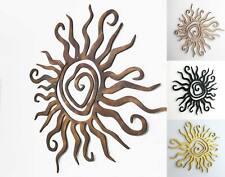 Wanddeko Sonne Spirale 3D Wandbild Innen Außen Garten Geschenk Idee Wandschmuck