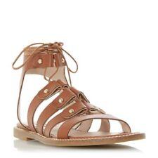 Dune Block Patternless Sandals for Women