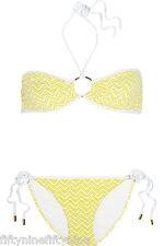 Kiniki proposito di Vesper tan through Tie Side Bikini Tanga ad asciugatura rapida Made in England