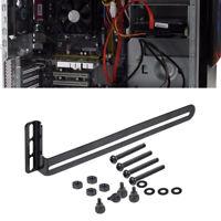 1 Set PCI Side-blown Graphics Card Cooling Fan Mount Bracket Tools