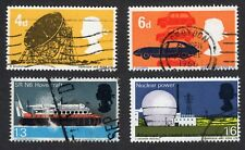 Great Britain: British Technology; complete fine used set