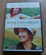 Sense And Sensibility Dvd With Kate Winslet & Hugh Grant Certificate U
