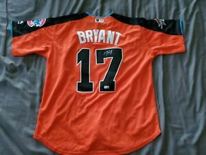 KRIS BRYANT SIGNED AUTOGRAPHED 2017 ALL STAR JERSEY  - CHICAGO CUBS -RARE!