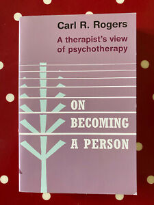 On Becoming A Person by Carl Rogers Paperback Book - New