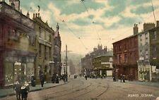 Mumps OLDHAM Lancashire Shops Animated Scene 1905 Original Postcard (YMT)