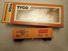 Tyco HO Gauge Single Door Box Car Armour Refrigerator Line MIB