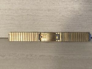 VINTAGE OMEGA 10 K GOLD FILLED STAINLESS STEEL  JB WATCH BAND